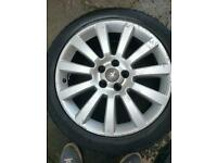 Vauxhall 5 x110 astra vectra twintop 18 alloy wheels