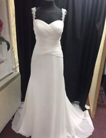 Lillian West Ivory Wedding Dress UK12 BNWT