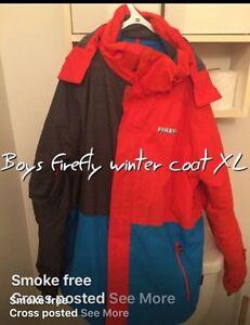 Boys FIREFLY winter coat  XL