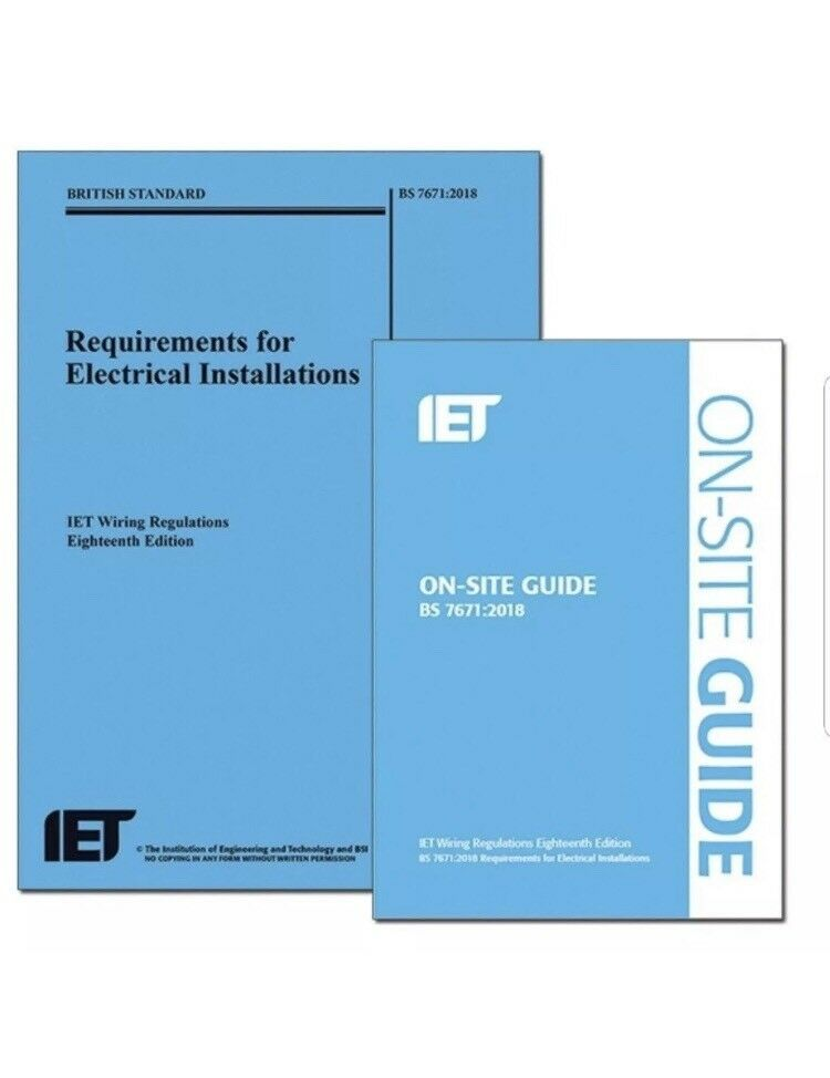 18th Edition Wiring Regulations + On-Site Guide+ 5x MOCK EXAM Papers All in  PDF | in Hedge End, Hampshire | Gumtree