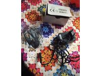 Brand new Blackberry 2 Pin Charger and New Headphones In Box