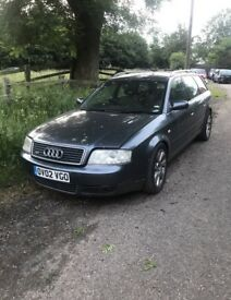 FOR BREAKING 2002 Audi A6 Quattro All Parts Avaliable