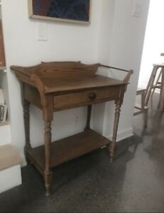 Moving sale: Antique wooden side table