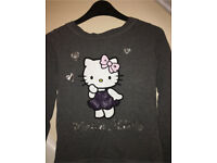 2 Long Sleeve tops (Hello Kitty)
