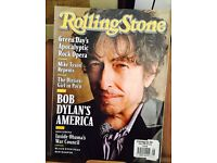 ROLLING STONE MAGAZINE BOB DYLAN'S AMERICA MAY 2009