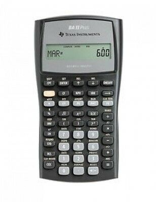texas instruments ba ii plus f... Image 1