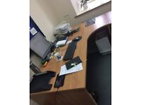 EXECUTIVE DESKS 12 AVAILABLE. FREE DELIVERY