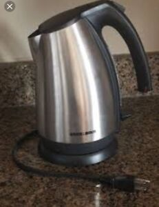 Black & Decker Electric kettle.