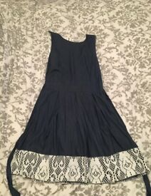 New closet denim dress size 12