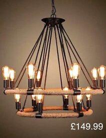 Vintage retro industrial style lights
