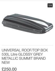 Universal car roof box