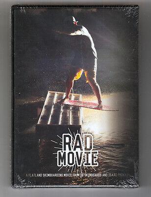 Rad Movie    Dvd  A Flatland Skimboarding Movie By Db Skimboards   Isaac Thomas