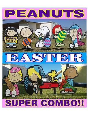 Peanuts outdoor Easter SUPER COMBO Christmas valentine's decorations](Peanuts Outdoor Christmas Decorations)