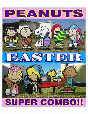 Peanuts outdoor Easter SUPER COMBO Christmas valentine's decorations - Outdoor Valentine Decorations