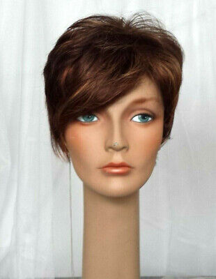 Revlon 6341 Melania (aka Marnie) synthetic wig color: Tomato Bisque 33/30R
