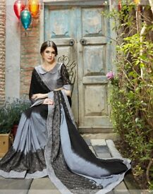 Desi indian designer dress 2018 saree sari shadi wedding