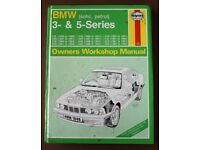 Haynes Owners Workshop Manual for 1981 - 1991 BMW (sohc, petrol) 3 and 5 Series