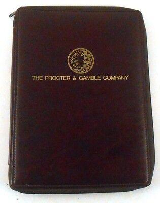 The Procter   Gamble Company Vintage Zippered Portfolio Notebook Dec Digital