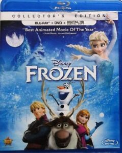 [New] Disney's Frozen Collector's Ed. (Blu-Ray + DVD + Digital)