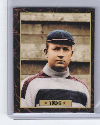 Cy Young Baseball Card - Cy Young Cleveland Spiders rookie Ultimate Baseball Card Collection #18