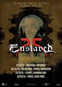 WANTED: Enslaved - Manning Bar - Friday 7th October Camperdown Inner Sydney Preview