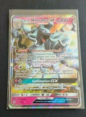 Pokemon Sun /& Moon SM12a 095//173 Alolan Ninetales GX Japanese Tag All Stars
