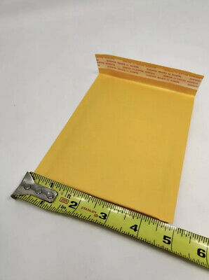50-pack 4x6 Small Self Seal Kraft Bubble Mailers Padded Envelopes 4 X 6