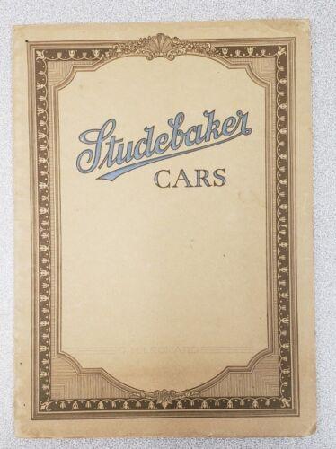 1920 Studebaker Series 20 Sales Catalog