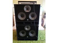 Two 2x10 Harley Benton Bass Cabs