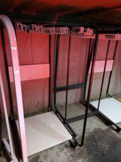 10 plan clamps and trolley