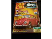 Job Lot of Volks World Magazines from the 1990s