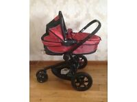 Quinny Carrycot in Red