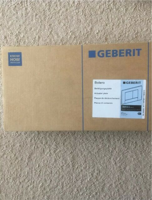 competitive price cda49 a2cf9 Geberit Bolero Dual Flush Plate 115.777.DW.1 Jet Black Brand New Boxed | in  Coventry, West Midlands | Gumtree