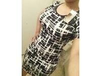 Bodycon short sleeve dress
