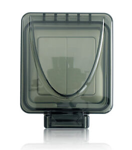 New Byron Home Easy He402 Outdoor Double Light Switch 2