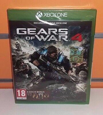 Gears of War 4 XBOXONE NUOVO SIGILLATO ITA + DLC OMAGGIO