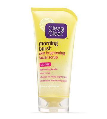 Clean   Clear Morning Burst Skin Brightening Facial Scrub 5 Oz