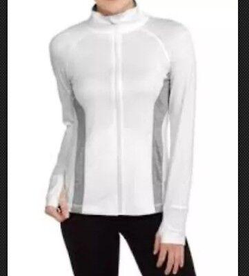 Danskin Now Women's Plus Full Zip Performance Jacket  Size (Danskin Now Womens Full Zip Performance Jacket)