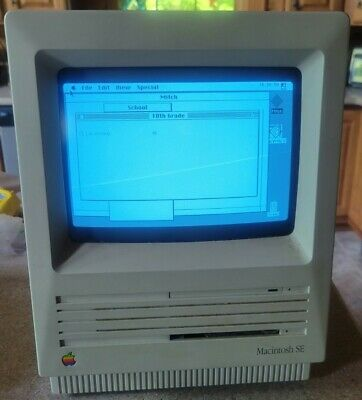 Apple Macintosh SE Superdrive FDHD M5011 1GB SCSI2SD HD - 2MB Floppy - 4MB RAM