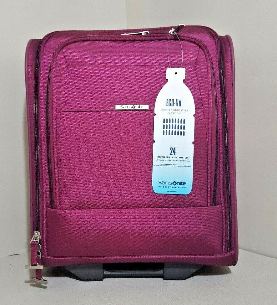 """Samsonite Eco-Nu 19"""" Expandable Spinner Under-Seat Carry On"""