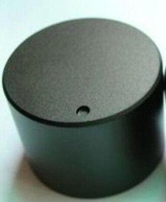 (1PCS 30mmDIAx22 H BLACK SOLID Aluminum Hi-Fi CD VOLUME TONE ROTARY CONTROL KNOB)