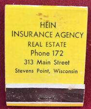 Matchbook Hein Insurance Agency Real Estate Stevens Point ...