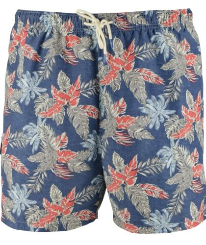 $85 Tommy Bahama Mens Swim Trunks Cargo Shorts Naples Faded Palms 4XLB 4XB Blue Clothing, Shoes & Accessories