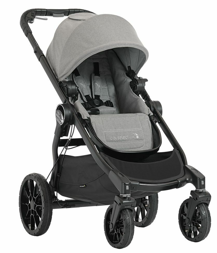 Baby Jogger City Select Lux Twin Tandem Double Stroller With Second Seat Slate - $649.98