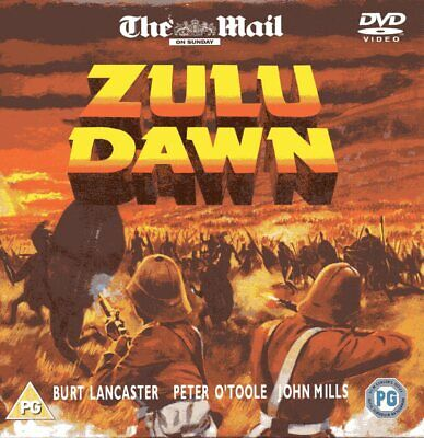 Zulu Dawn DVD (2004) Burt Lancaster,John Mills cert PG FREE postage