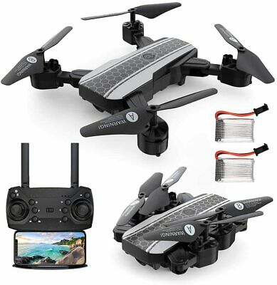RAGU 1080P Foldable RC Drone, SX20 2.4GHz Remote/Phone/Tablet Controlled RTF