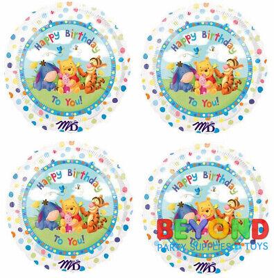 Winnie the Pooh Happy Birthday Party Mylar Foil Balloon 18