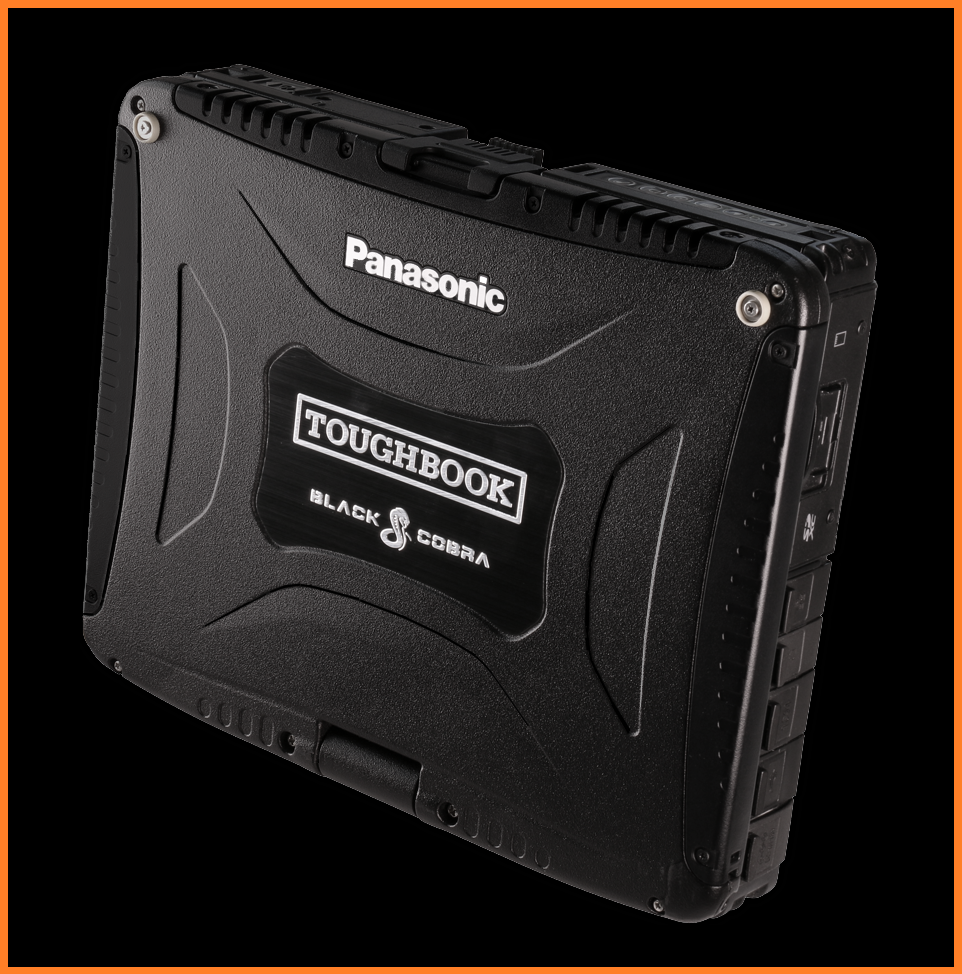 BLACK COBRA Panasonic Toughbook CF-19 • i5 2.5Ghz • 480GB SSD • 16GB • GPS • DVD