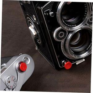 1Pcs Red Metal Soft Shutter Release Button for Fujifilm X100 SLR Camera G#
