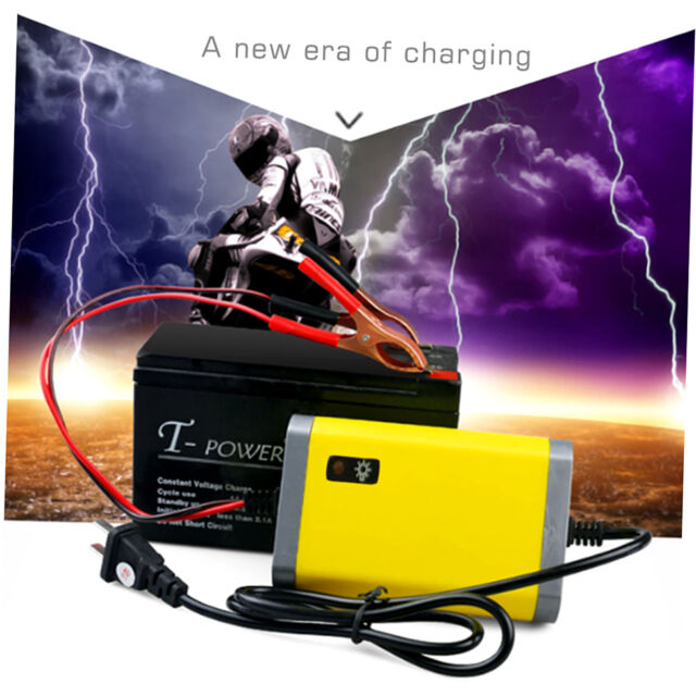 Car Battery Charger Motorcycle Accessory 12V 2A Automatic Power Supply FJAU